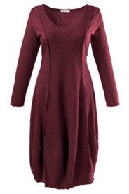 Kleid, bequeme O-Silhouette, Langarm