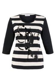 Shirt mit Buchstabendruck. 100% Baumwolle