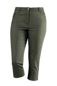 7/8-Jeans mit Elasthan, teilelastischer Bund