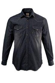 Hemd, Denim, moderne Waschung, Modern Fit