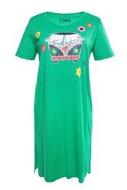 Big-Shirt, Motiv Hippie-Bus, Halbarm