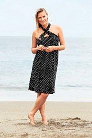 2-in-1-Strandkleid, Bandeau oder Neckholder
