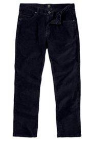 Cordhose, Regular Fit, dunkelmarine, Stretch-Komfortbund
