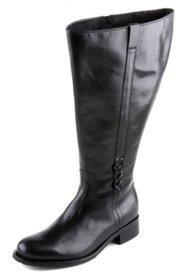Stiefel mit XXL-Schaft, Weite H