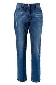 Jeans Regular Fit mit Destroy-Effekten, gerades Bein