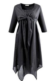 Kleid mit Bolero-Look, Biobaumwolle