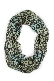 Loop mit Leopardenmuster