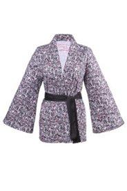 Kurzer Kimono mit Schalkragen