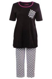Pyjama mit Grafikmuster