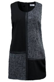 Longtop im Patch-Look, A-Linie