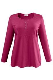 Shirt mit Elasthan, A-Linie