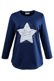 Sweatshirt mit Sternenmotiv