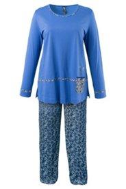 Pyjama mit Katzenmotiv