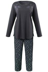 Pyjama mit Kreuzstichmotiv