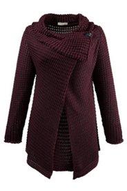 Cardigan, grob gestrickt, aus 100% Bio-Baumwolle