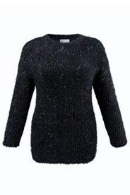 Pullover mit Metallic-Akzenten, Boxy-Form