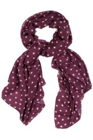 Schal mit Sternenmuster, breites Modell