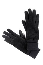 Handschuhe aus Veloursleder, Fleecefutter