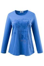 Shirt mit Lackdruckmotiv, A-Linie