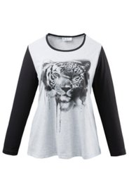 Shirt mit Tigermotiv