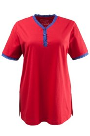 Pyjama-Shirt aus weichem Jersey