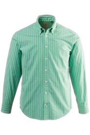 Streifenhemd, Modern Fit, Buttondown-Kragen