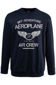 Sweatshirt, Flieger-Motiv