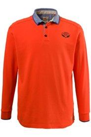Poloshirt, Pikee-Qualität, lange Ärmel
