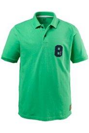 "Poloshirt, Pikeejersey, ""8""-Applikation"