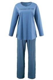 """Pyjama mit Schriftzug """"Kuschel mit mir"""""""