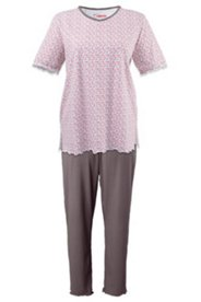 Pyjama, Blümchenmuster