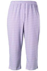 Pyjama-Hose, geringelt, 7/8-Länge