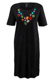 Kleid mit Ziersteinen