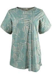 Shirt mit geometrischem Muster, Biobaumwolle