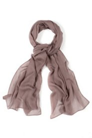Schal aus edler Seidenmischung