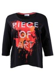 "Shirt mit Schriftzug ""Piece of Art"", 100 % Baumwolle"