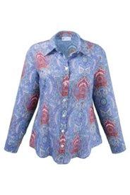 Bluse im trendigen Paisley-Print
