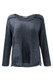 Pullover aus zweifarbigem Strukturstrick
