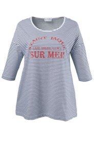 Shirt mit Schriftzug, Stretchkomfort