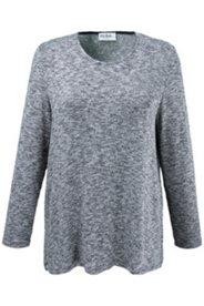 Pullover aus weichem Melangestrick