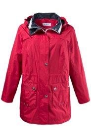 Jacke mit abnehmbarer Kapuze, wasserabweisend und winddicht