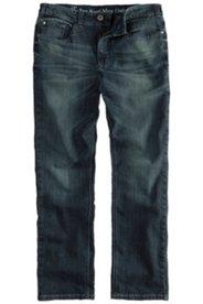 5-Pocket-Jeans, Straight Fit, Used-Effekt