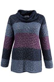 Pullover mit fantasievollen Strickstrukturen