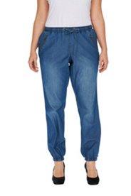 Jeans, Pump-Silhouette, Schlupfform, Baumwolle mit Tencel-Optik
