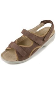 Sandaletten mit Klettverschluss, Weite H