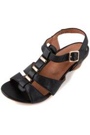 Sandaletten mit Metallic-Dekoren, Weite H