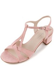 Sandaletten aus Veloursleder, Weite H