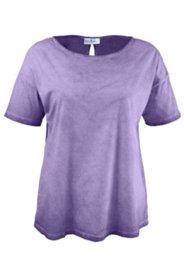 T-Shirt mit Schlitz am Rücken, oversized