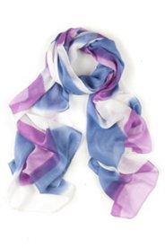 Schal mit Muster aus bunten Rechtecken