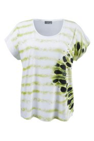 T-Shirt mit Ziersteinen, oversized